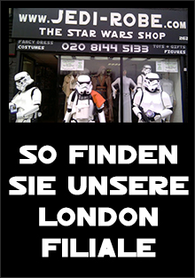 How to find the Jedi-Robe.com - The Star Wars Shop, London Store