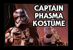 Star Wars Episode 7 Captain Phasma Kostüme