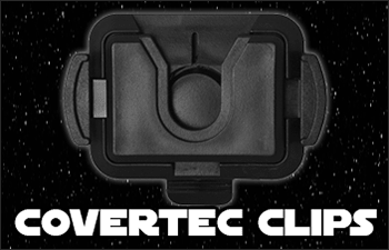 Star Wars Covertec Lightsaber Belt Clips available at www.Jedi-Robe.com - The Star Wars Shop