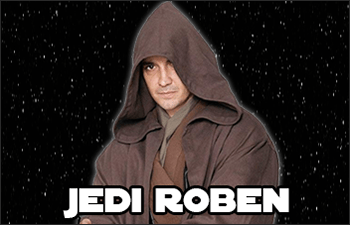 Star Wars Jedi Robes available at www.Jedi-Robe.com - The Star Wars Shop