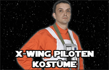 Star Wars X-Wing Pilot Costumes available at www.Jedi-Robe.com - The Star Wars Shop