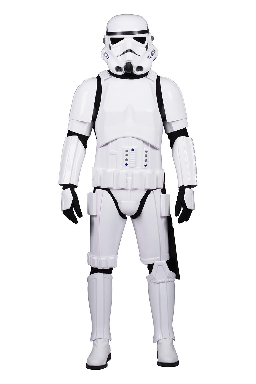 Standardgröße Star Wars Stormtrooper Kostüm Rüstung Paket mit Zubehör