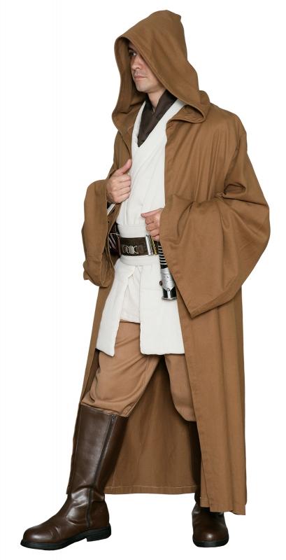 star wars jedi ritter robe hellbraun replika star wars kostum